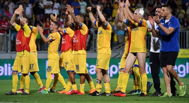 Frosinone in finale playoff SerieB